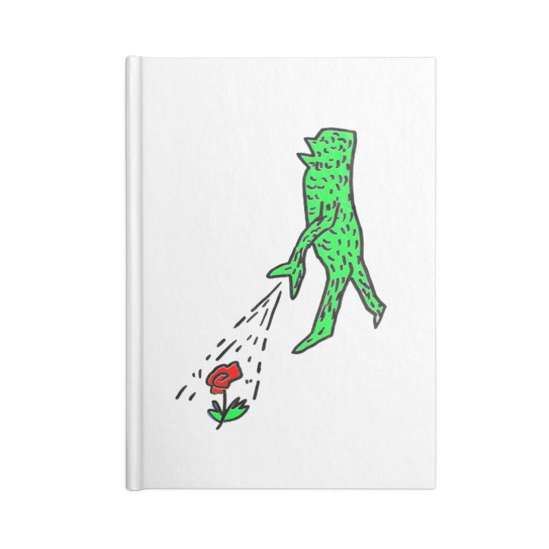 Flower & Monster Accessories Notebook by sanpo's Artist Shop