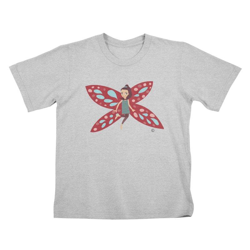 mariposa Kids T-Shirt by Diseños Sanuki