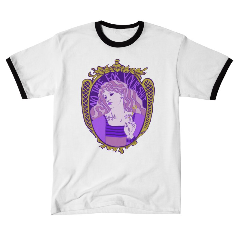 Lady with No Time For Your Shit Women's T-Shirt by Saraemor