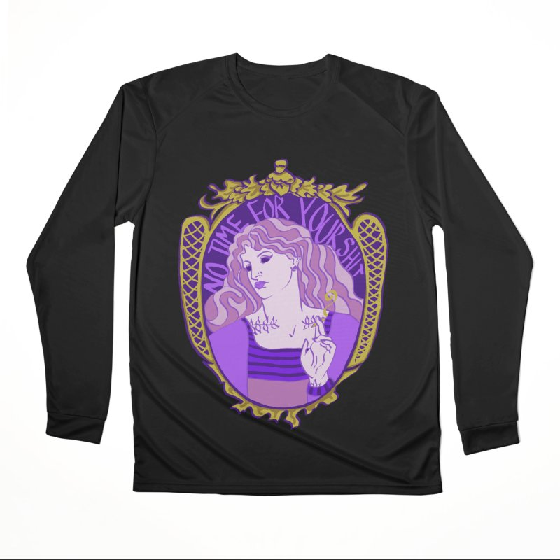 Lady with No Time For Your Shit Women's Longsleeve T-Shirt by Saraemor