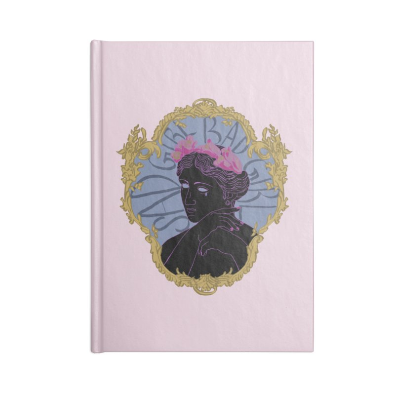 Lady Who's a Sad Girl Bad Girl Accessories Notebook by Saraemor