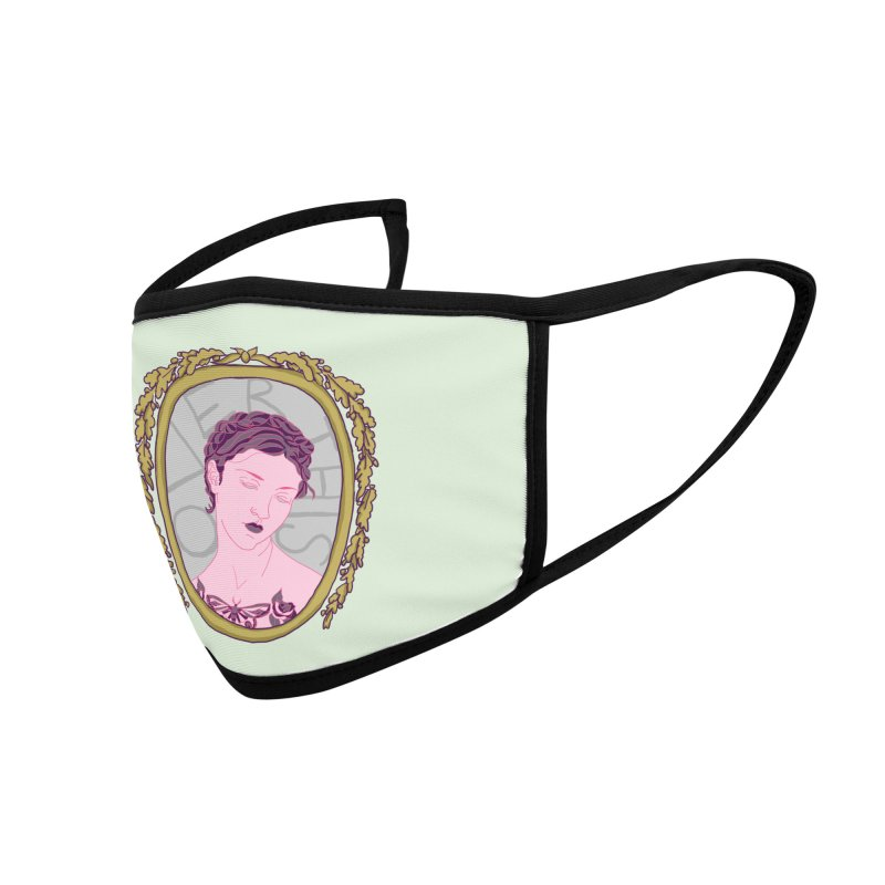Lady Who's Over This Accessories Face Mask by Saraemor