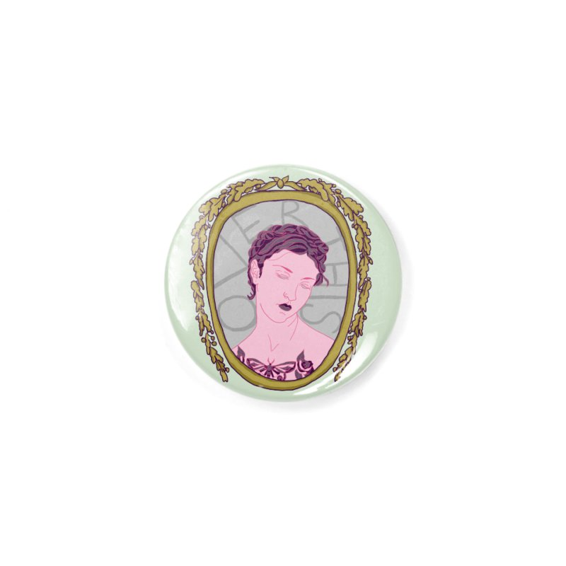 Lady Who's Over This Accessories Button by Saraemor