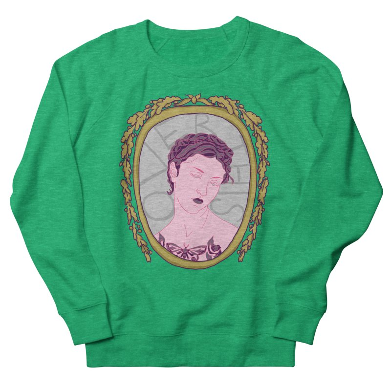 Lady Who's Over This Women's Sweatshirt by Saraemor