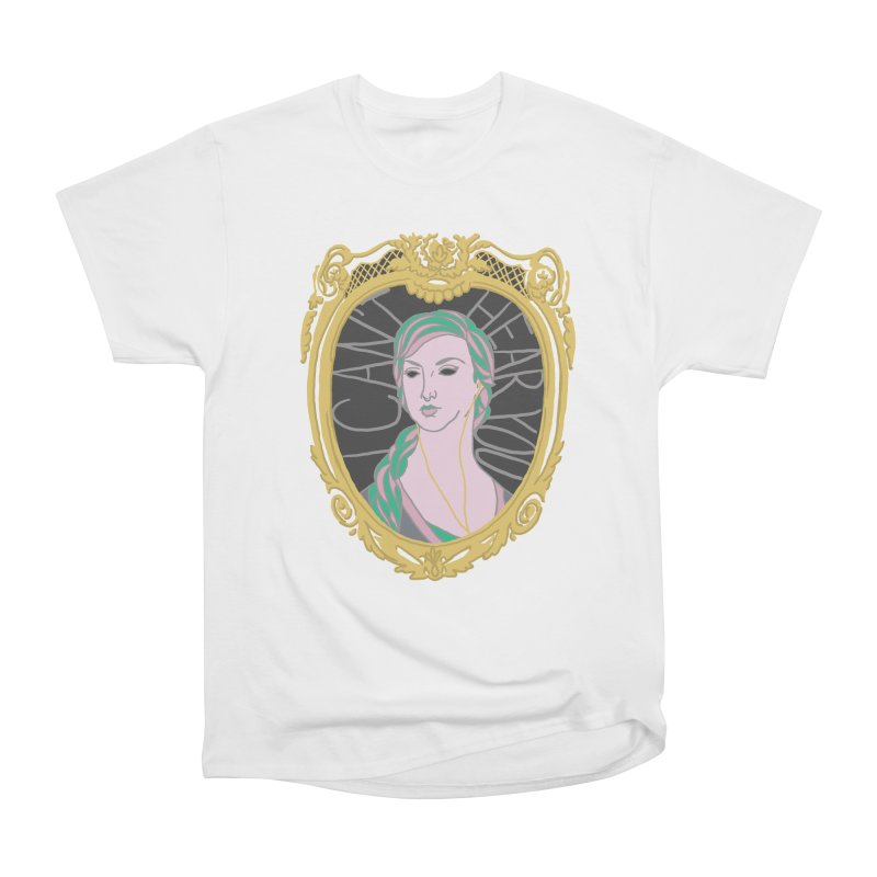 Lady Who Can't Hear You Men's T-Shirt by Saraemor