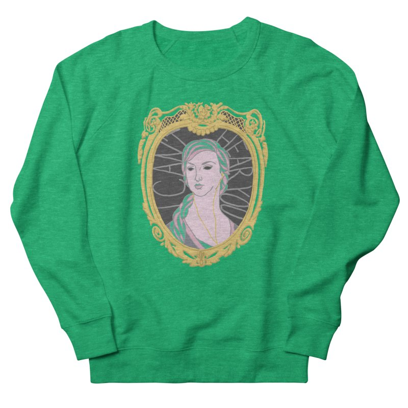Lady Who Can't Hear You Women's Sweatshirt by Saraemor