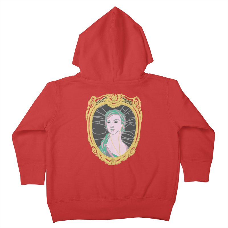 Lady Who Can't Hear You Kids Toddler Zip-Up Hoody by Saraemor