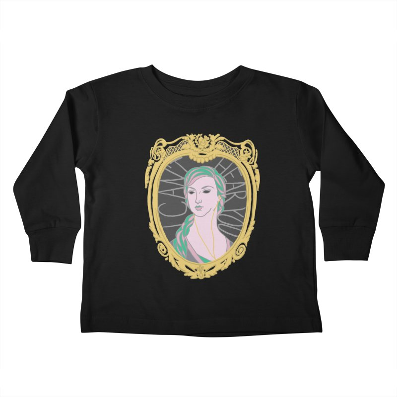 Lady Who Can't Hear You Kids Toddler Longsleeve T-Shirt by Saraemor