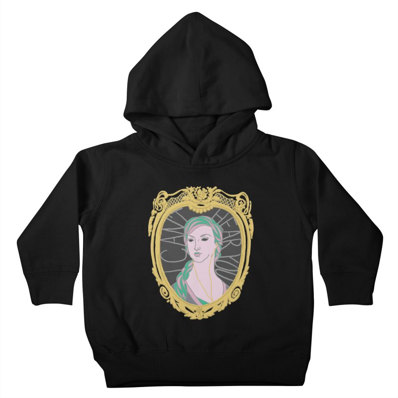 Lady Who Can't Hear You Kids Toddler Pullover Hoody by Saraemor