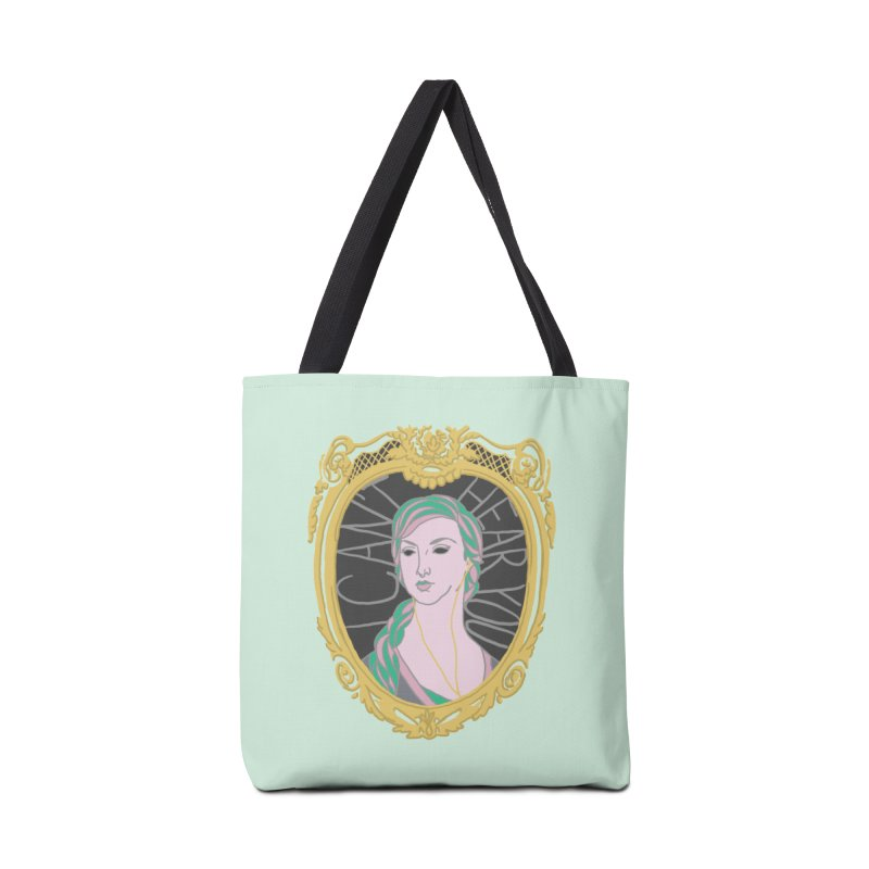 Lady Who Can't Hear You Accessories Bag by Saraemor