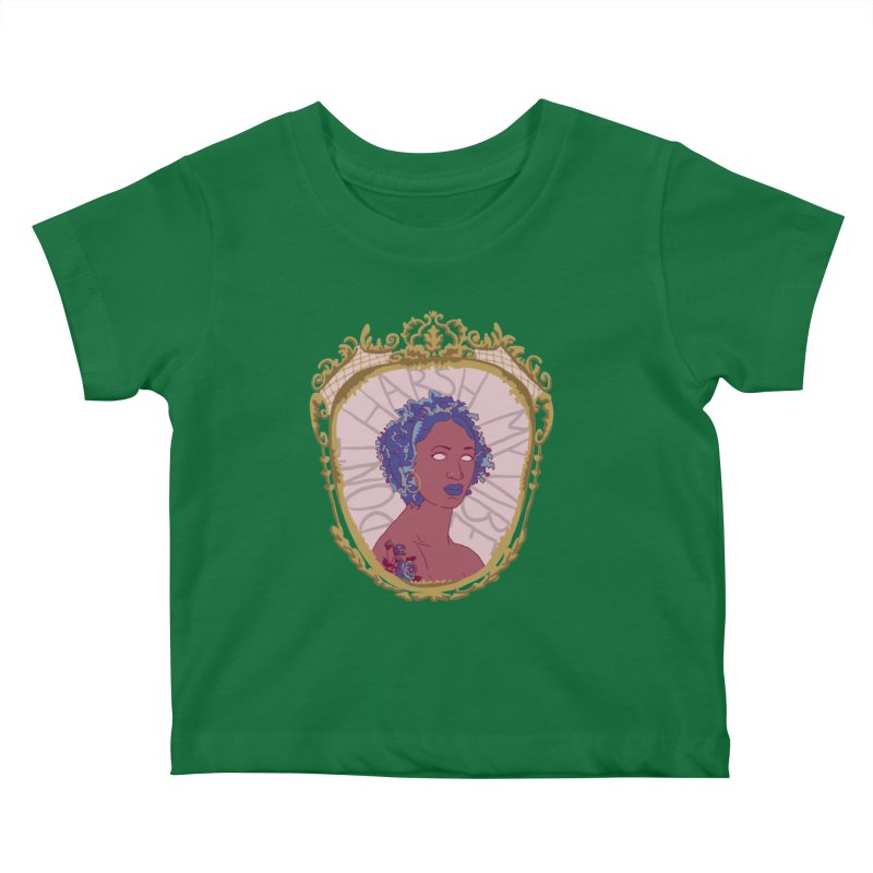 Don't Harsh My Vibe Lady Kids Baby T-Shirt by Saraemor