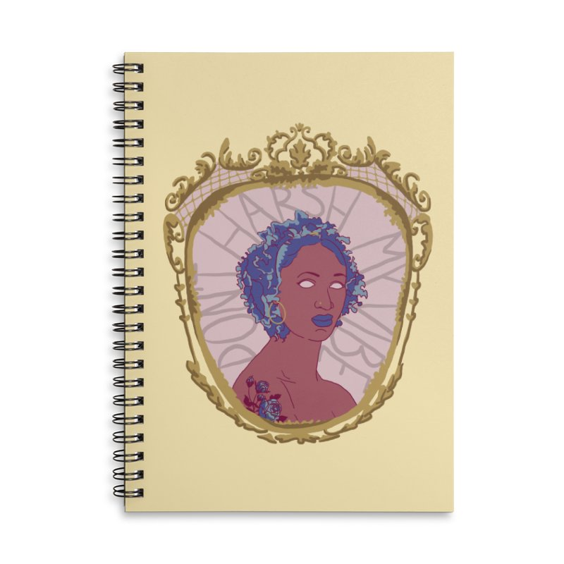 Don't Harsh My Vibe Lady Accessories Notebook by Saraemor