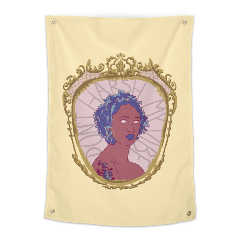 Don't Harsh My Vibe Lady Home Tapestry by Saraemor