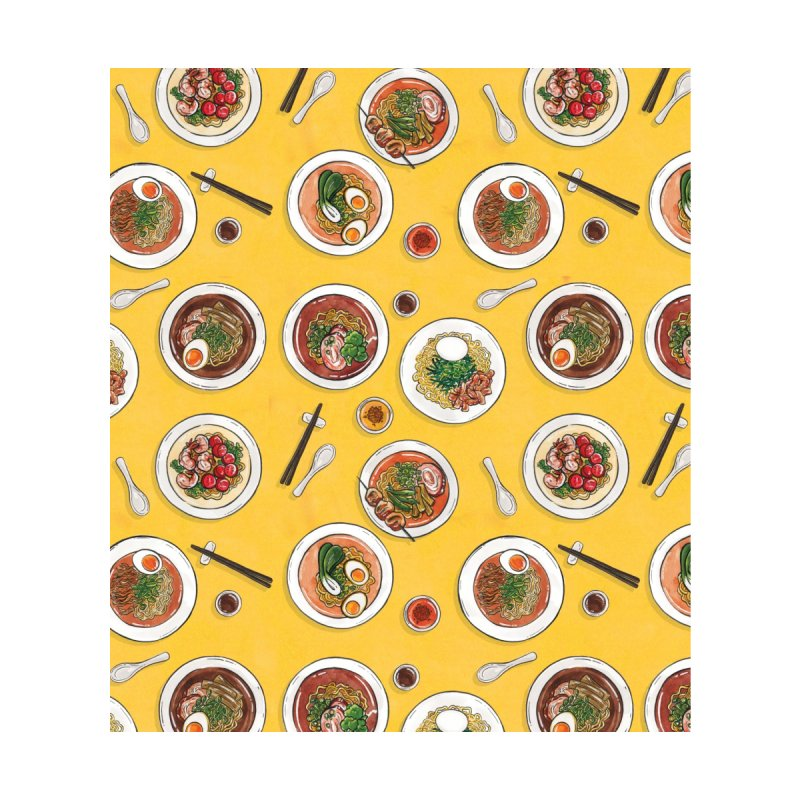 Yellow Ramen Bowls by Sarah Becan