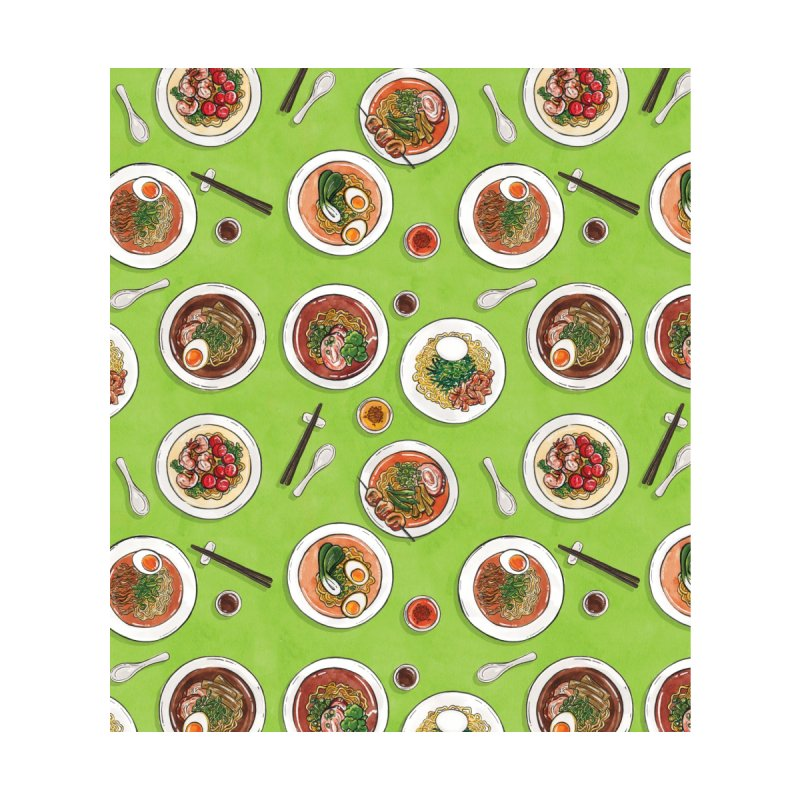Green Ramen Bowls by Sarah Becan