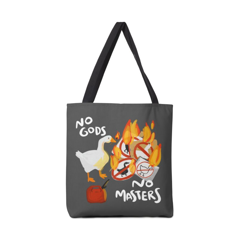 No Gods - No Masters Accessories Tote Bag Bag by Sarah Becan