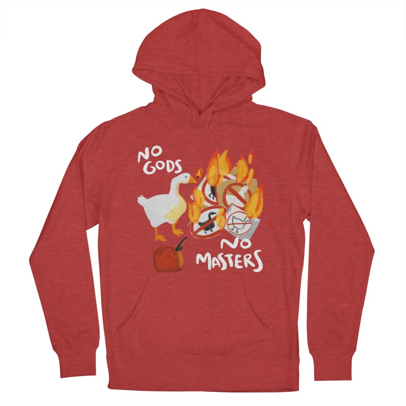 No Gods - No Masters Women's French Terry Pullover Hoody by Sarah Becan
