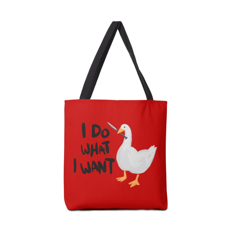 I Do What I Want Accessories Tote Bag Bag by Sarah Becan