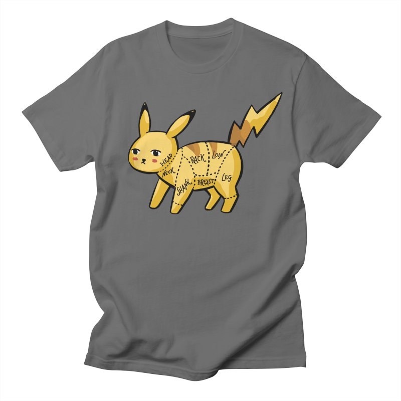 Pokecuts of Meat, I Men's T-Shirt by Sarah Becan
