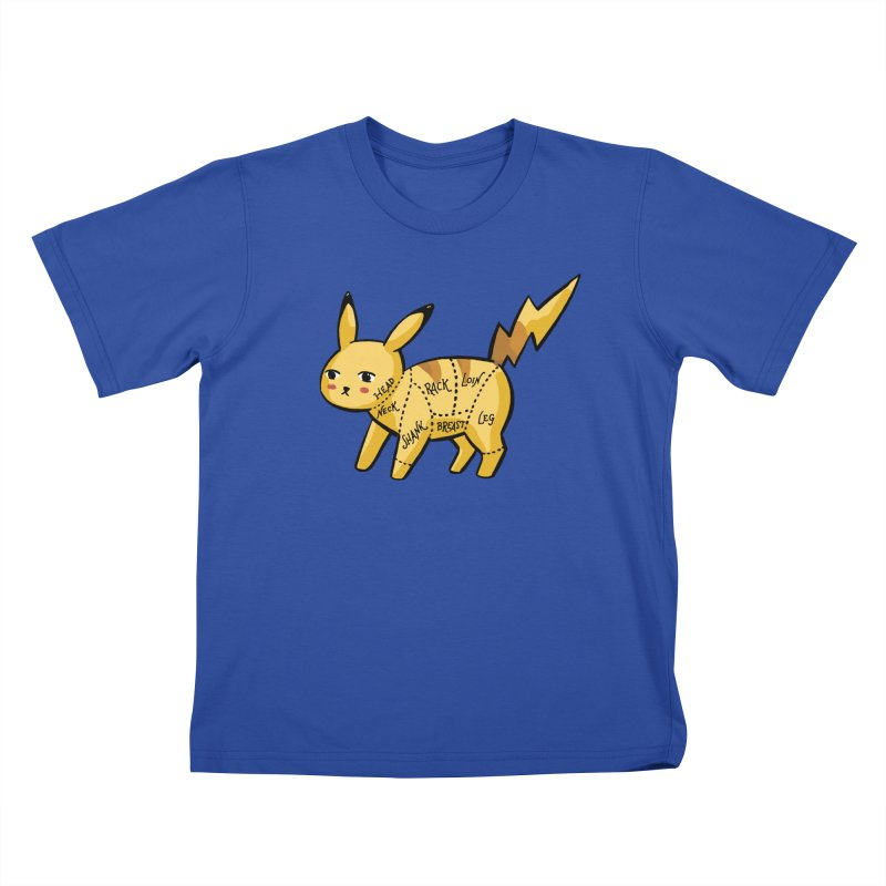 Pokecuts of Meat, I Kids T-Shirt by Sarah Becan