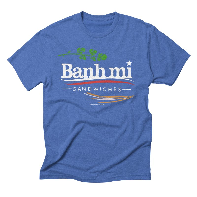 Banh Mi Sandwiches 2016! Men's Triblend T-Shirt by Sarah Becan