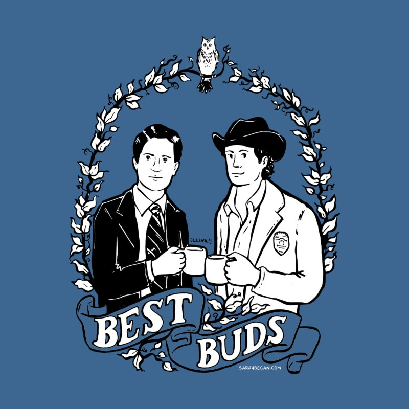 Best Buds Women's Sweatshirt by Sarah Becan