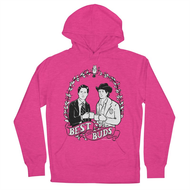 Best Buds Women's French Terry Pullover Hoody by Sarah Becan