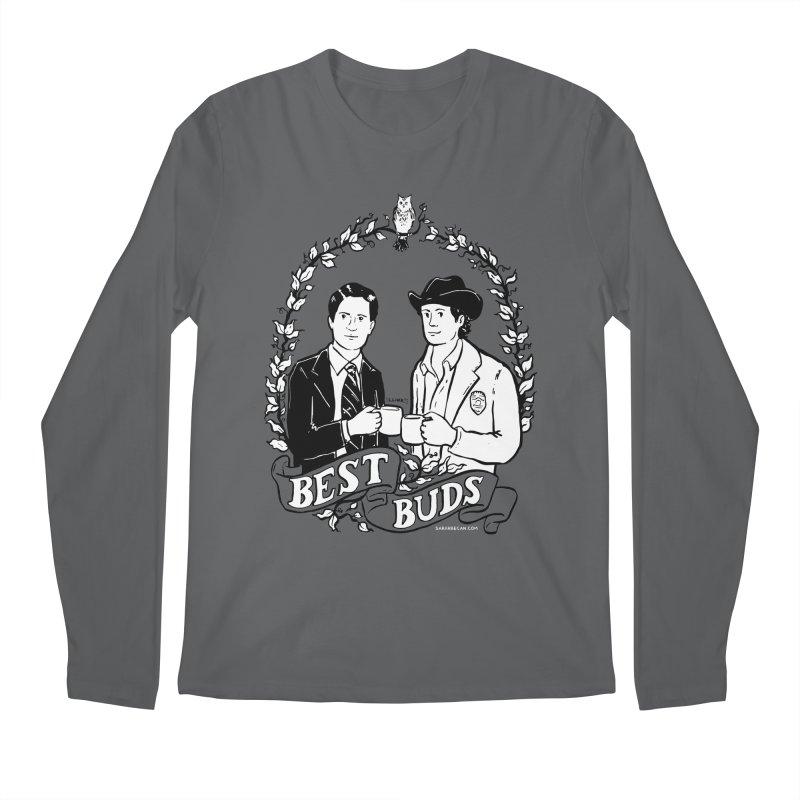 Best Buds Men's Regular Longsleeve T-Shirt by Sarah Becan