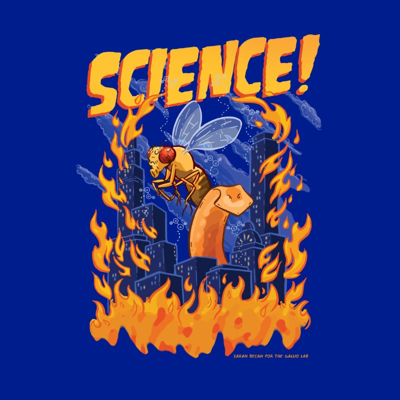 SCIENCE! with Gallio Lab Women's V-Neck by Sarah Becan
