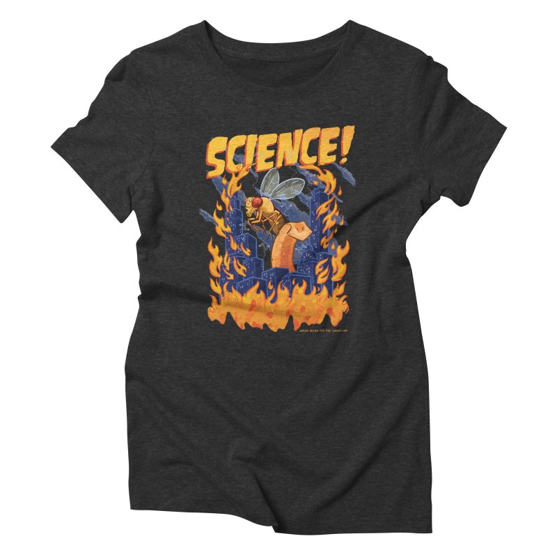 SCIENCE! with Gallio Lab Women's Triblend T-Shirt by Sarah Becan