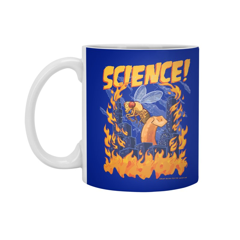 SCIENCE! with Gallio Lab Accessories Standard Mug by Sarah Becan