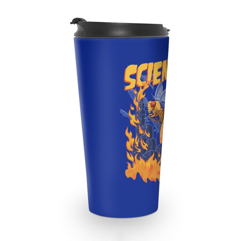 SCIENCE! with Gallio Lab Accessories Travel Mug by Sarah Becan