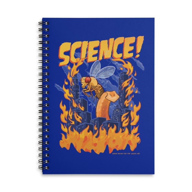 SCIENCE! with Gallio Lab Accessories Notebook by Sarah Becan