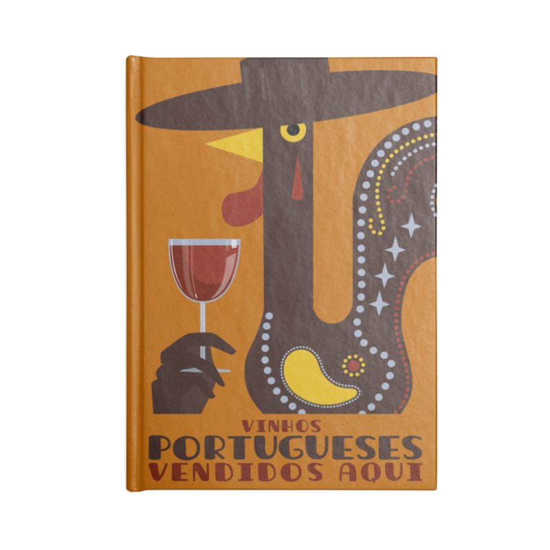 Fat Rice: Vinhos Portugueses Accessories Notebook by Sarah Becan