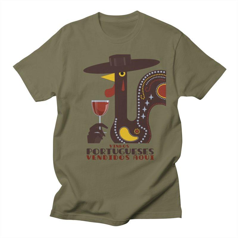 Fat Rice: Vinhos Portugueses Women's Regular Unisex T-Shirt by Sarah Becan