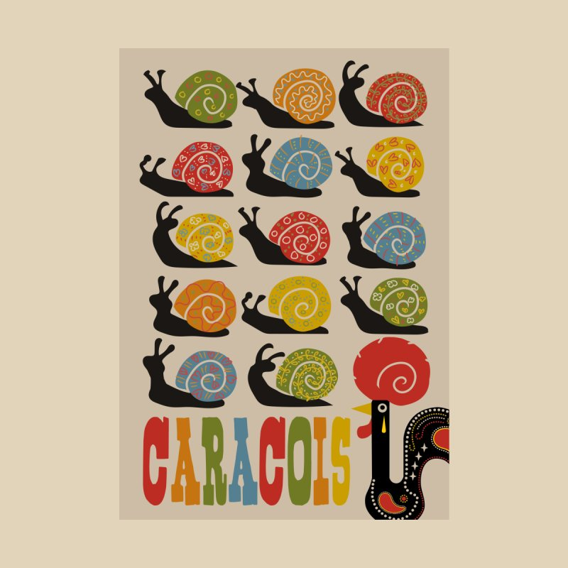 Fat Rice: Caracois Home Fine Art Print by Sarah Becan