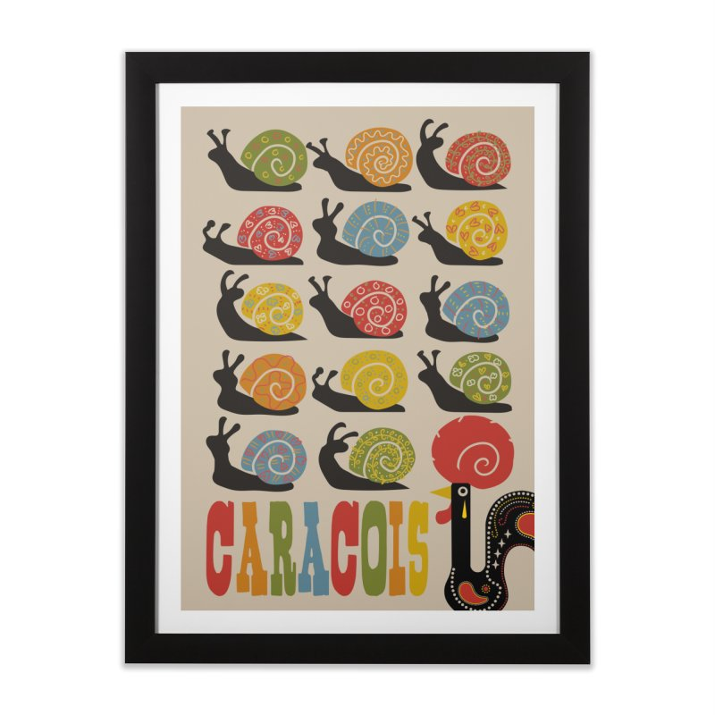 Fat Rice: Caracois Home Framed Fine Art Print by Sarah Becan