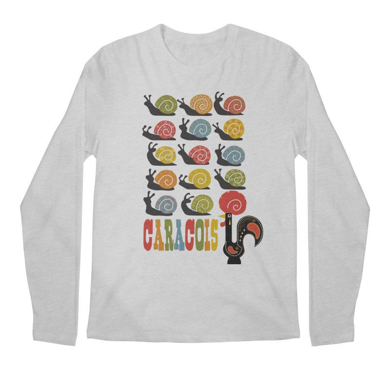 Fat Rice: Caracois Men's Regular Longsleeve T-Shirt by Sarah Becan