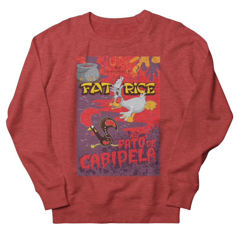Fat Rice: Cabidela Women's French Terry Sweatshirt by Sarah Becan