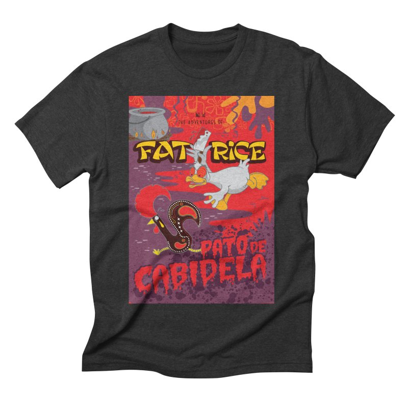 Fat Rice: Cabidela Men's Triblend T-Shirt by Sarah Becan