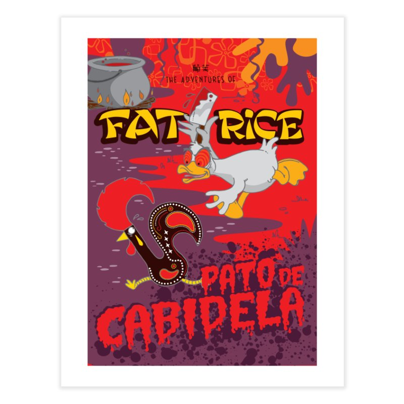 Fat Rice: Cabidela Home Fine Art Print by Sarah Becan