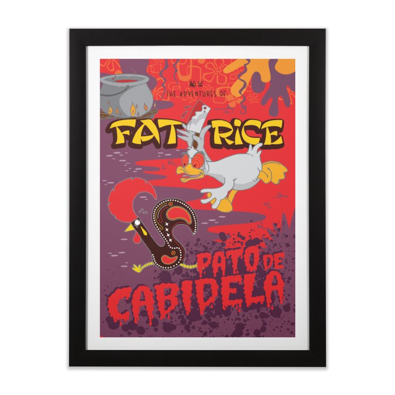 Fat Rice: Cabidela Home Framed Fine Art Print by Sarah Becan