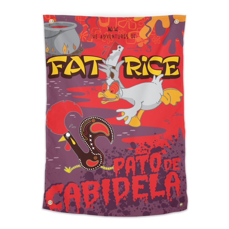Fat Rice: Cabidela Home Tapestry by Sarah Becan
