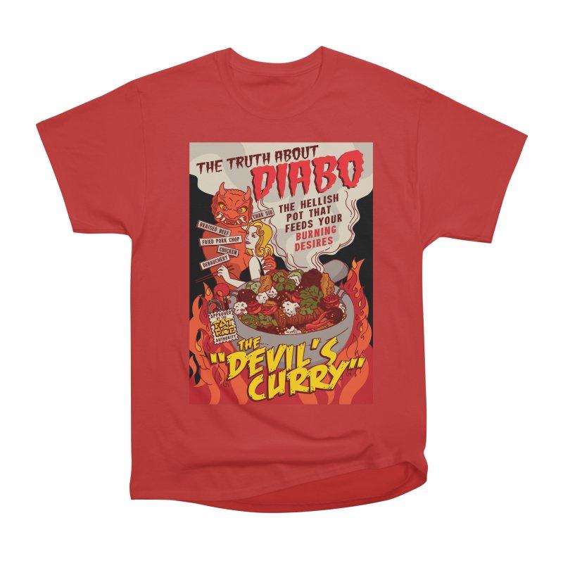 Fat Rice: Diabo Men's Heavyweight T-Shirt by Sarah Becan