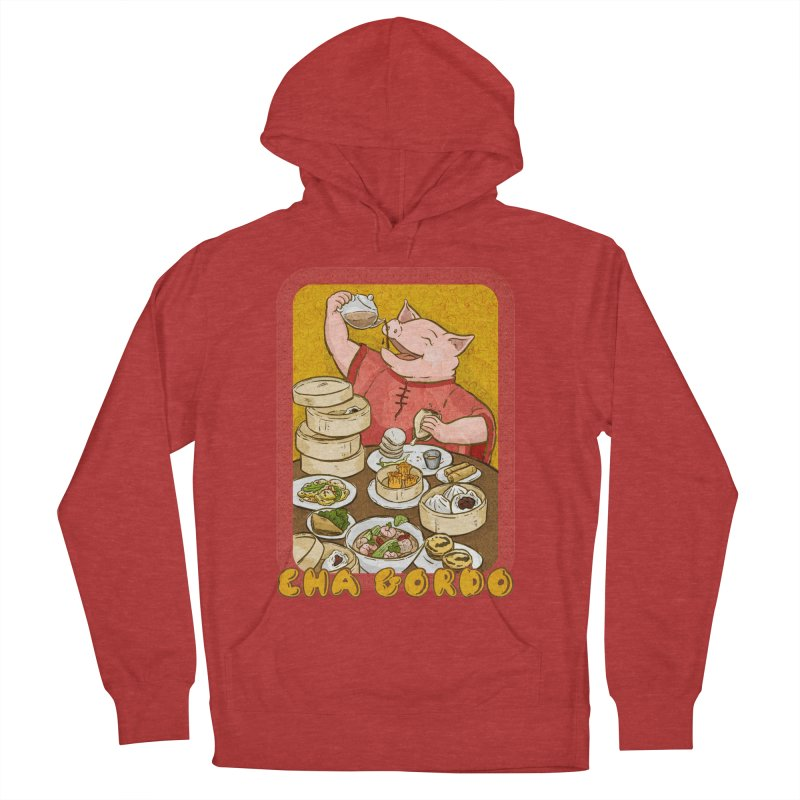 Fat Rice: Cha Gordo Women's Pullover Hoody by Sarah Becan