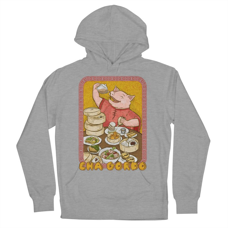 Fat Rice: Cha Gordo Men's French Terry Pullover Hoody by Sarah Becan