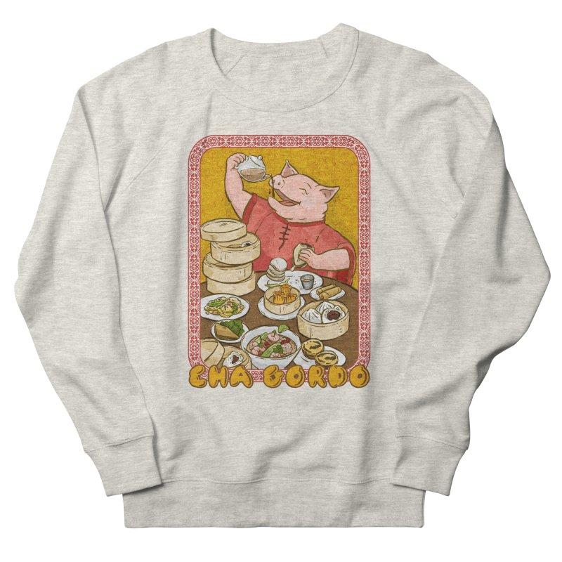 Fat Rice: Cha Gordo Women's French Terry Sweatshirt by Sarah Becan