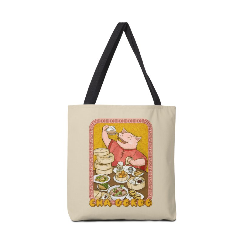 Fat Rice: Cha Gordo Accessories Bag by Sarah Becan