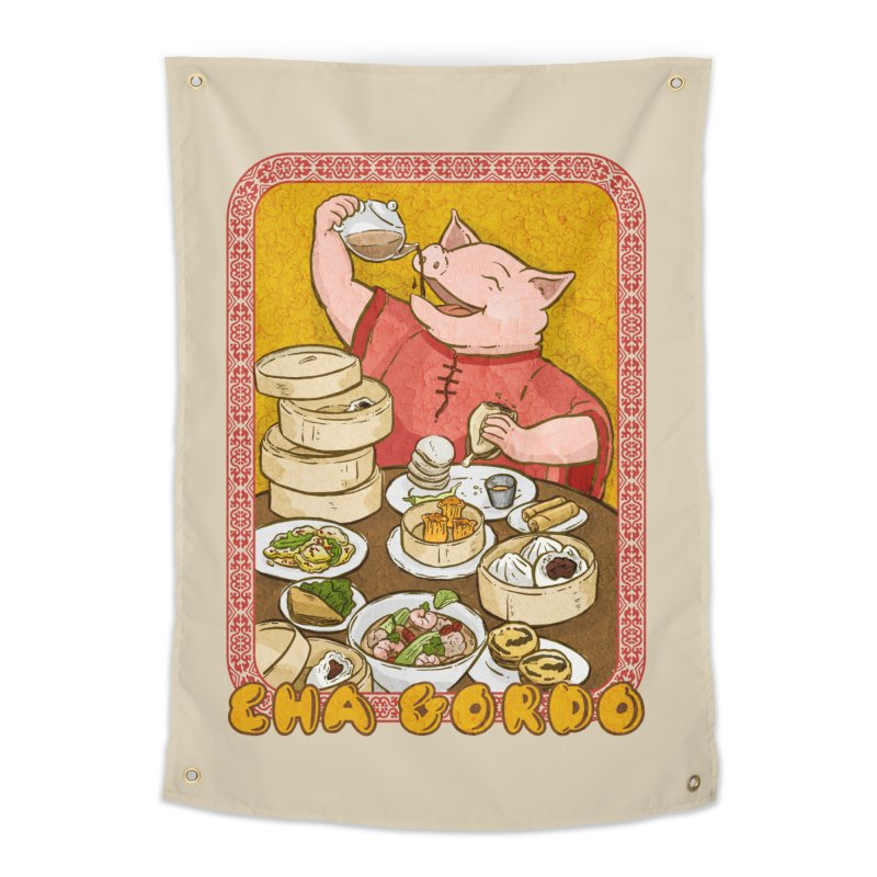 Fat Rice: Cha Gordo Home Tapestry by Sarah Becan