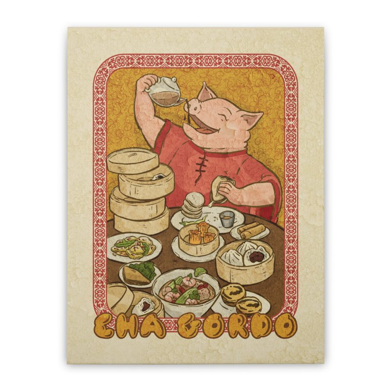 Fat Rice: Cha Gordo Home Stretched Canvas by Sarah Becan